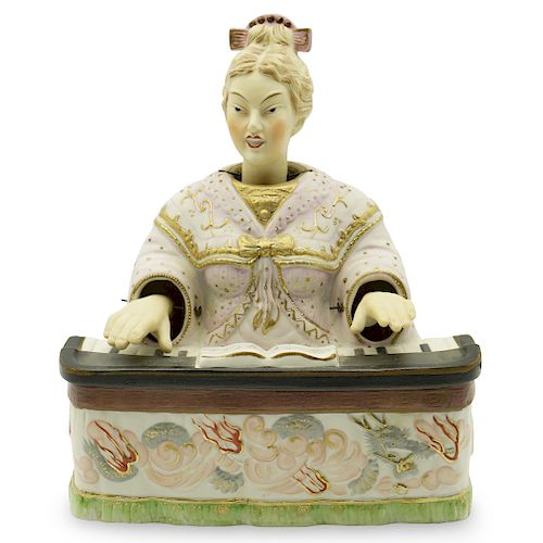 German Porcelain Oriental Nodding Head