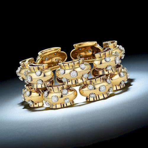 Van Cleef & Arpels Retro Diamond Bracelet