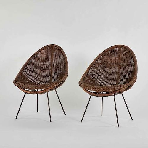 CHAIRS IN RATTAN