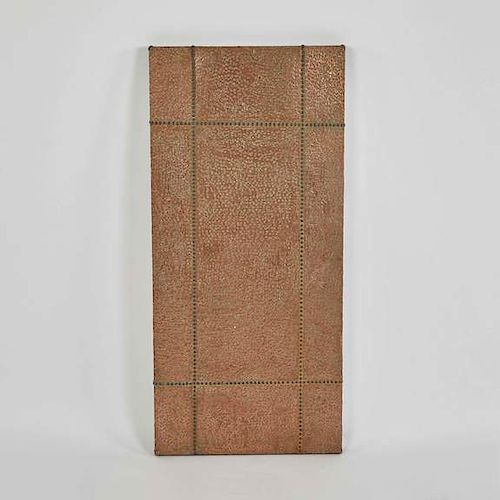PANEL IN COPPER AND BRASS