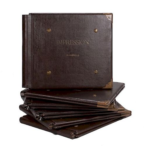 BOOKS IN LEATHER