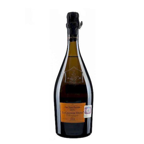 La Grande Dame. Cosecha 1998. Brut. Veuve Clicquot Ponsardin. Reims. France.