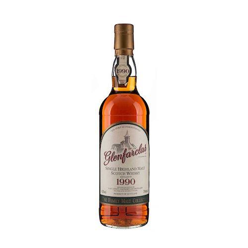 Glenfarclas. 1990. Single malt. Scotch Whisky.