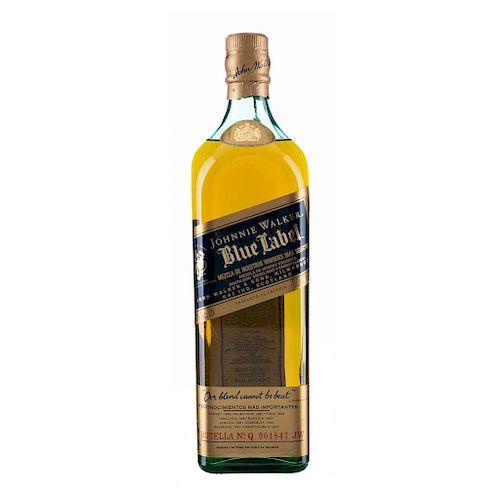 Johnnie Walker. Blue Label. Blended. Scotland.