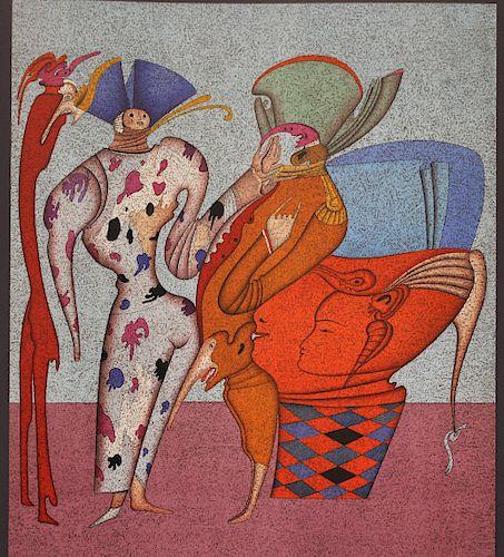 "Mihail Chemiakin (B. 1943) ""Untitled VII"" (29/225)"
