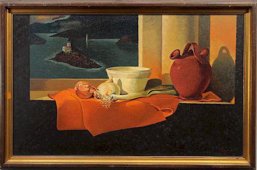 Gaillard, Signed 1962 Still Life Painting