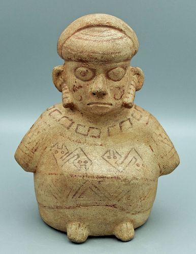 Rare Moche I Figure - Peru, ca. 50 BC - 100 AD