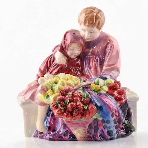 FLOWER SELLER'S CHILDREN HN1342 - ROYAL DOULTON FIGURINE