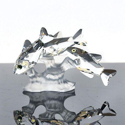 SWAROVSKI SILVER CRYSTAL SOUTH SEA FISH FIGURE