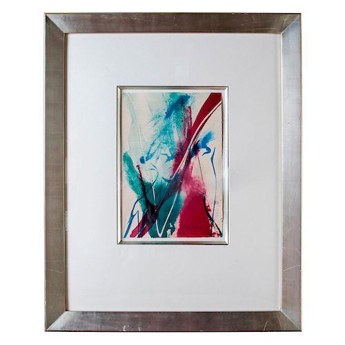 PAUL TOMKINS FRAMED ABSTRACT ART PRINT