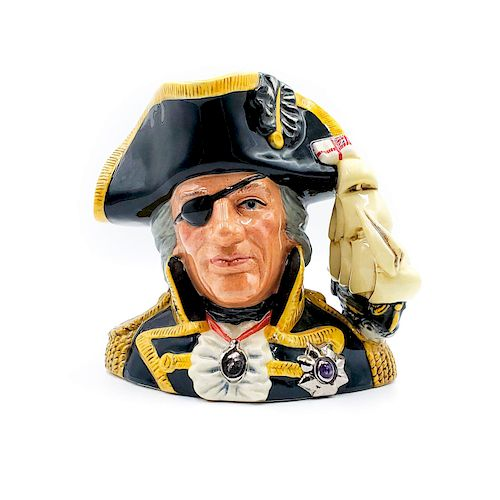 LARGE DOULTON CHARACTER JUG, VICE ADMIRAL LORD NELSON