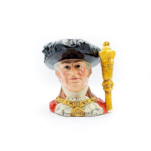 LG ROYAL DOULTON CHARACTER JUG, LORD MAYOR OF LONDON