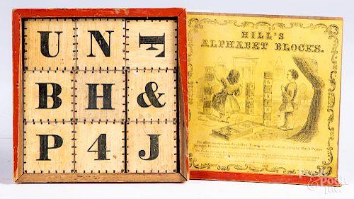 Hill's Alphabet Blocks