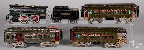 Lionel #384 passenger train set