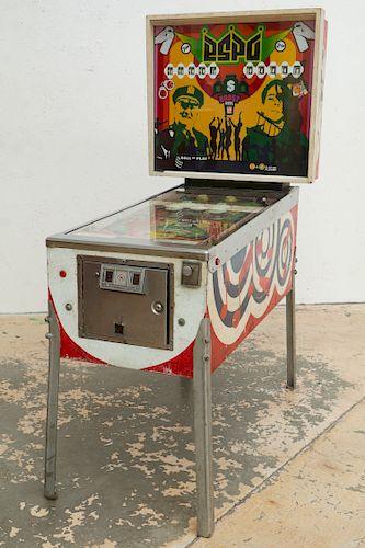 """Stephen Powers """"ESPO"""" (b. 1968) Pinball Machine"""
