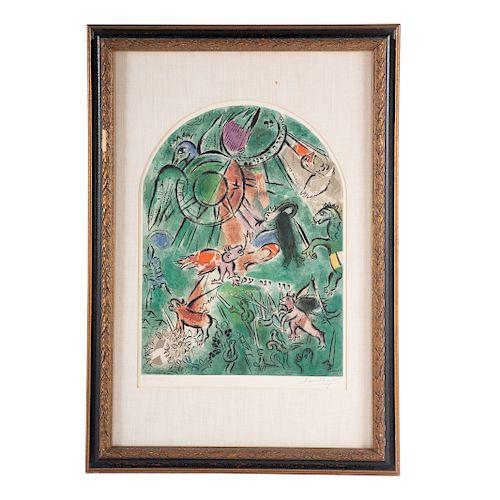 "Marc Chagall. ""Tribe of Gad Window"""