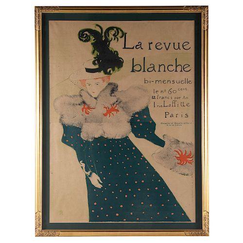 """Henri de Toulouse Lautrec. """"La Revue Blanche"""""""