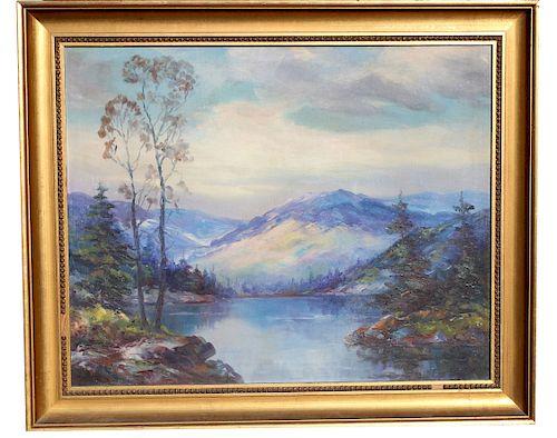 """Elmer Berge  (1892 - 1956) """"Montana Beauty..."""""""