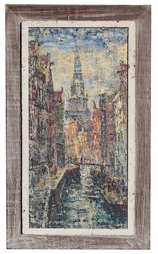 Arnoldus Oldenhave  (1905 - 1997) Amsterdam