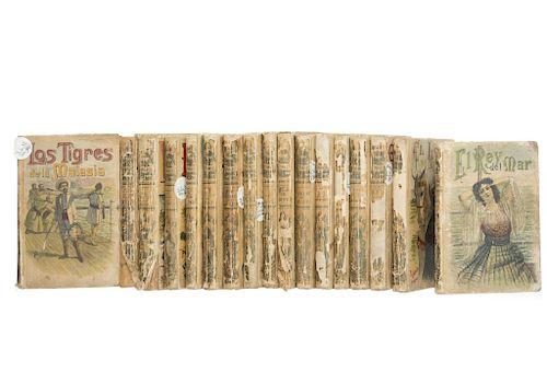 LOTE DE LIBROS: Biblioteca Calleja. Títulos Varios. Madrid: Saturnino Calleja Fernández, sin año. Piezas.  17.