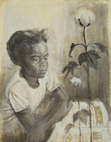 ERNEST CRICHLOW (AFRICAN-AMERICAN, 1925-2005).