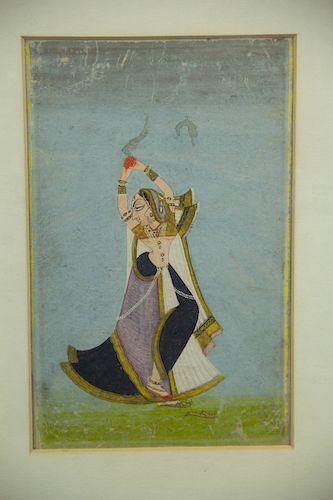 Pair of Persian Paintings on Paper.