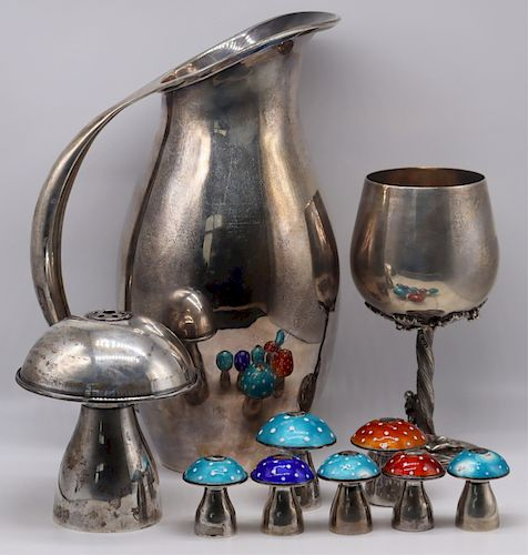 STERLING. Avanti Mexican Sterling Hollow Ware.