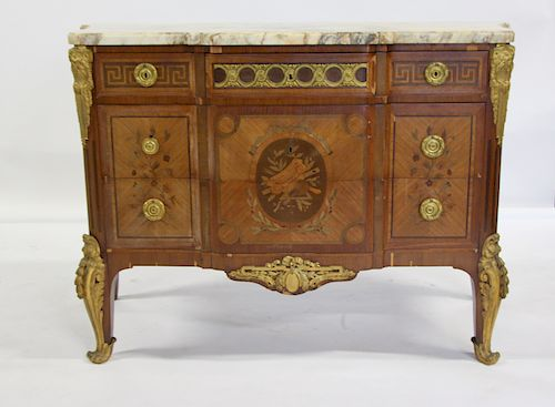 Fine Quality Louis XV Style Bronze Mounted And