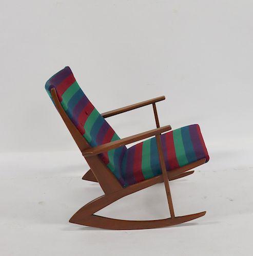 MIDCENTURY. Danish Modern Rocking Chair