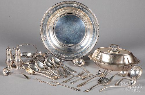 Sterling silver tableware's