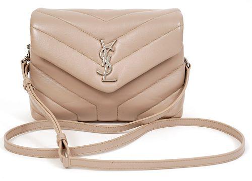 St Laurent Matelasse Toy Loulou Crossbody Bag