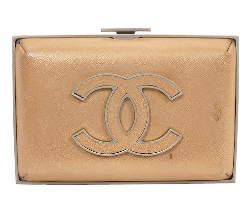 Chanel Limited Edition Gold Clutch 2012