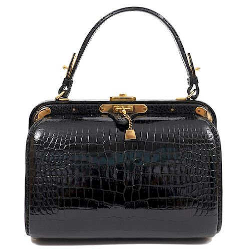 Fernando Desgranges Vintage Crocodille Hand Bag