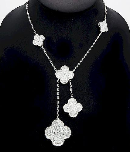 Van Cleef & Arpels Magic Alhambra Diamond 6 Motif