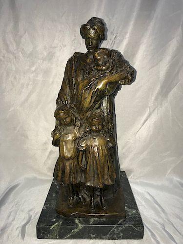 Bessie Potter Vonnoh Bronze Sculpture