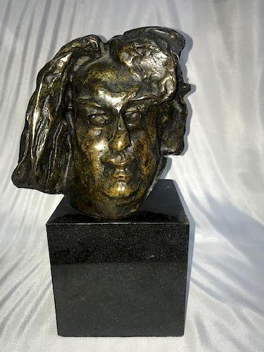 French BRONZE SCULPTURE Balzac Auguste Rodin