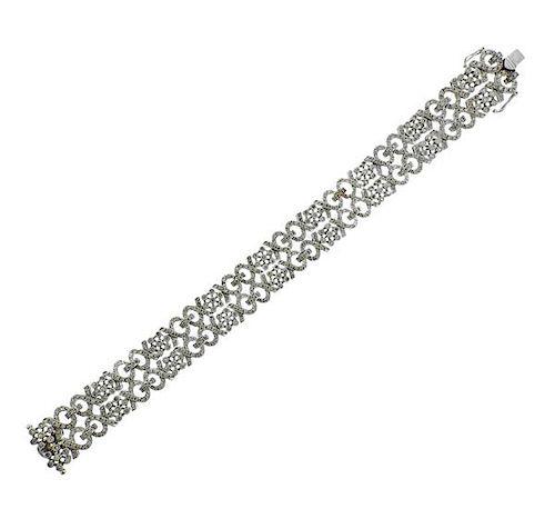 18K Gold Diamond Bracelet