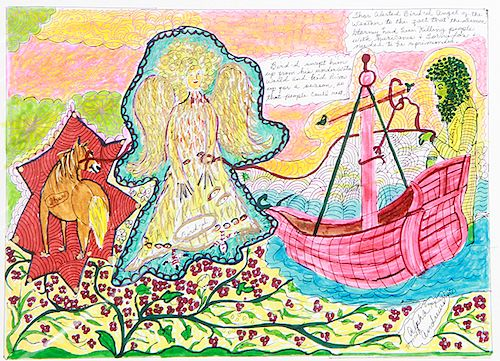 Outsider Art, Alpha Andrews, Thor Bird and Stormy