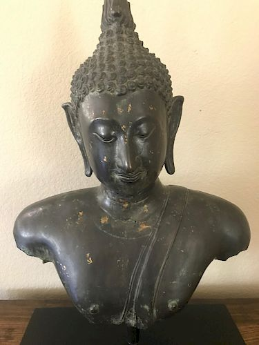 Buddha, Bronze, Thailand, 14/15th Century