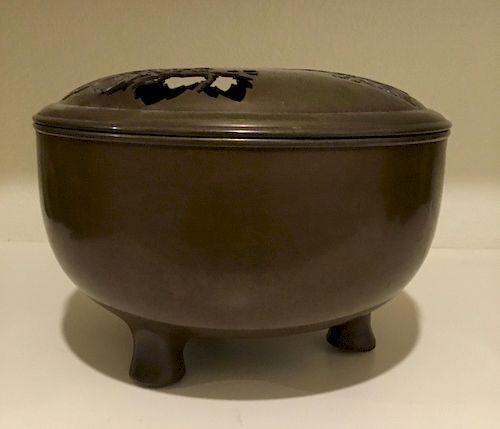 Censer (Koro), Bronze, Japan, 19th Century