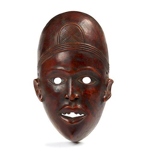Yombe Mask, Mid 20th Century
