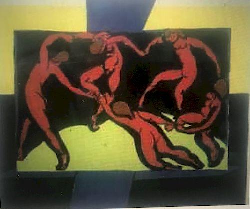 Lithograph, La Danse, by Henri Matisse (1869-1944)