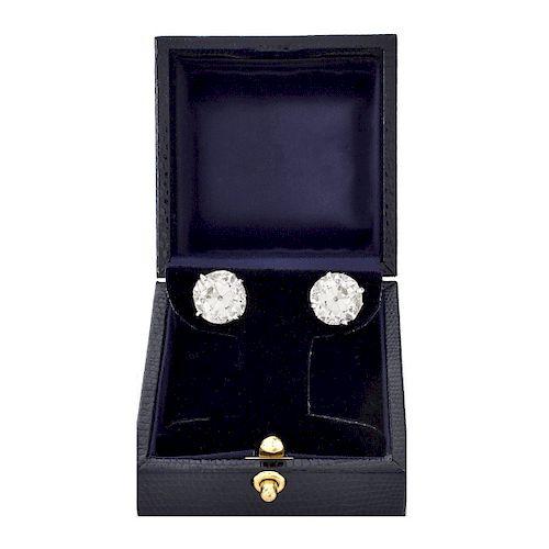 10.60ct TW Diamond Stud Earrings