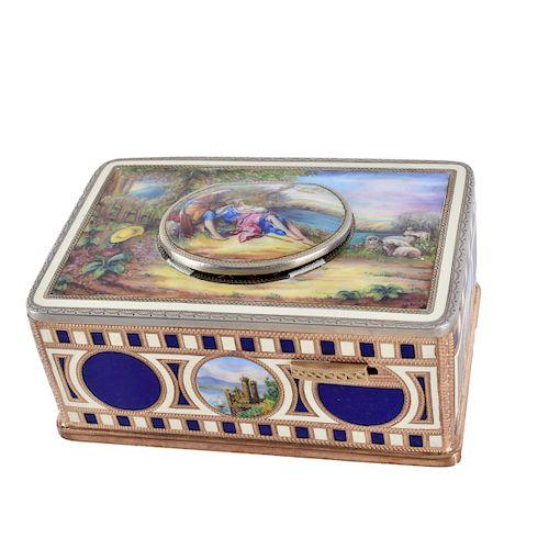 German Singing Bird Box