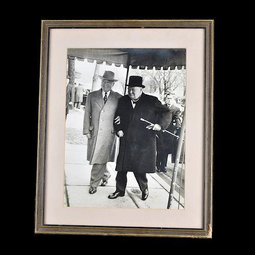 President Truman/Prime Minister Churchill Photo