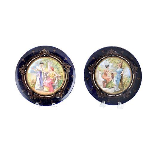 Royal Vienna Plates