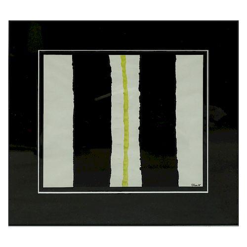 Attrib. Theodoros Stamos Abstract Gouache / Paper