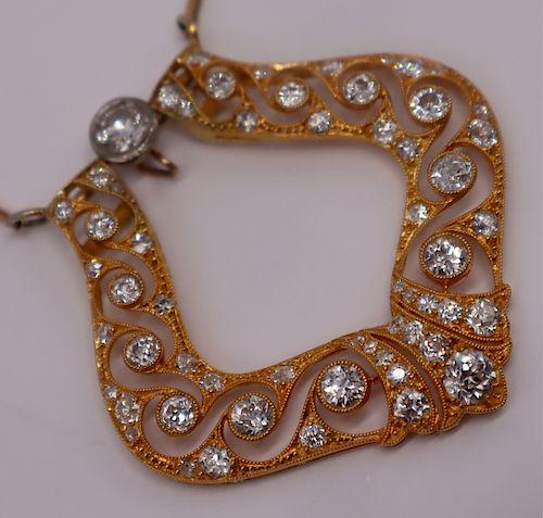 JEWELRY. Theodore B Starr 18kt Gold and Diamond