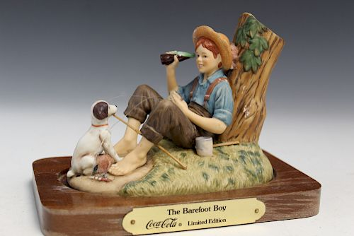The Barefoot Boy, Cococola Limited Edition Figurine