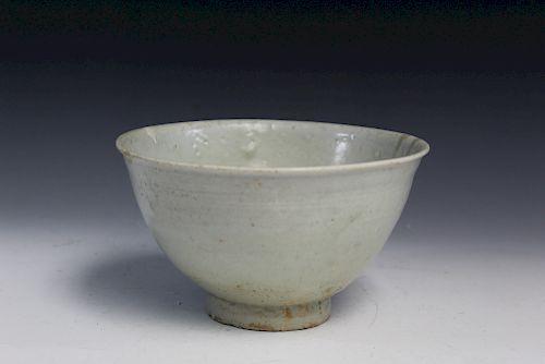 Korean antique porcelain bowl.
